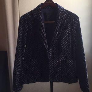Marc Jacobs print blazer, jacket.